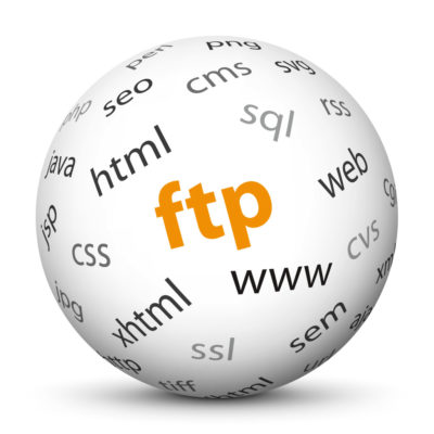 """White Sphere with Tag-Cloud / Word-Cloud! Acronym: """"ftp"""""""