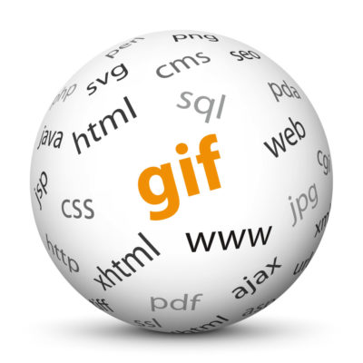 """White Sphere with Tag-Cloud / Word-Cloud! Acronym: """"gif"""""""