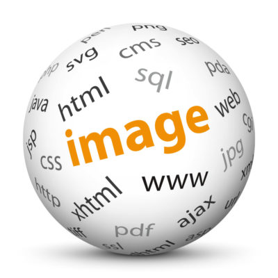 "White Sphere with Tag-Cloud / Word-Cloud! Keyword: ""image"""