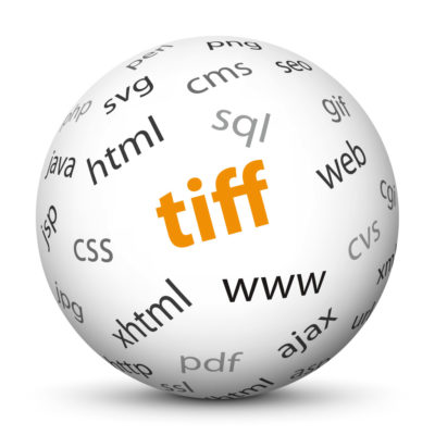 """White Sphere with Tag-Cloud / Word-Cloud! Acronym: """"tiff"""""""