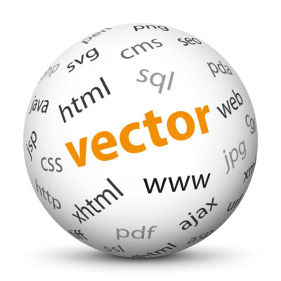"""White Sphere with Tag-Cloud / Word-Cloud! Keyword: """"vector"""""""