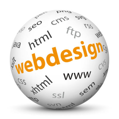 """White Sphere with Tag-Cloud / Word-Cloud! Keyword: """"webdesign"""""""