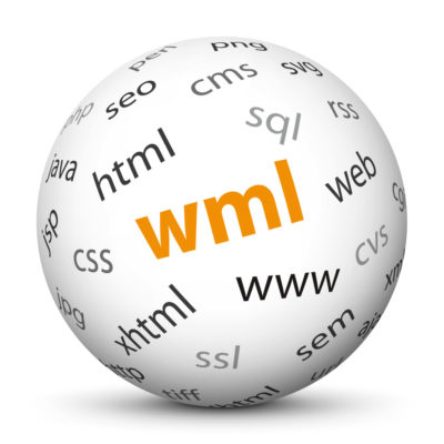 """White Sphere with Tag-Cloud / Word-Cloud! Acronym: """"wml"""""""